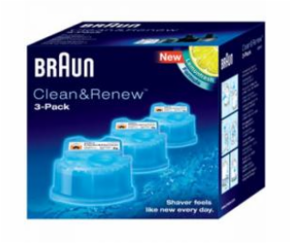 Braun CCR 3 Clean&Renew 3-pack