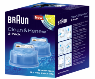 Braun cleaning cartridges CCR 2