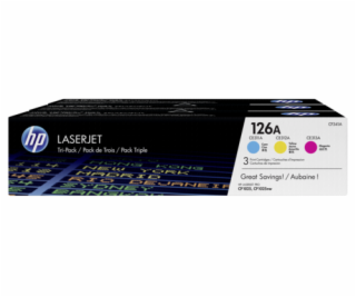 HP Toner Multi Pack CF 341 A C/M/Y No. 126 A