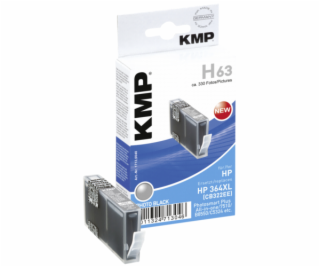 KMP H63 ink cartridge photo sw comp. w. HP CB 322 EE No. ...
