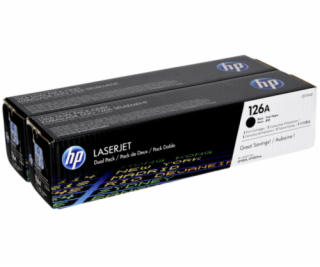HP Toner CE 310 AD black No. 126 A