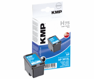 KMP H75 ink cartridge black compatible with HP CH 563 EE