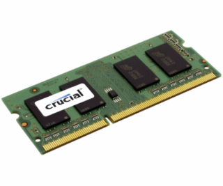 Crucial 8GB DDR3 1600 MT/s PC3-12800 / SODIMM 204pin / CL11