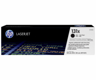 HP Toner CF 210 X black No. 131 X