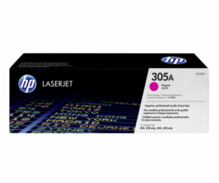 HP Toner CE 413 A purpurova No. 305 A