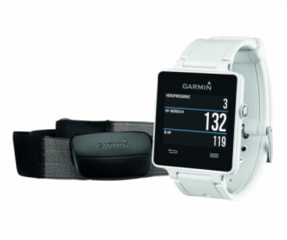 Garmin vivoactive HRM Bundle white
