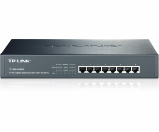 TP-LINK 8-port Gigabit Desktop TL-SG1008PE