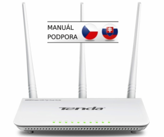 Tenda F303, Wireless-N Router  802.11b/g/n; 300Mbps ; 1 x...