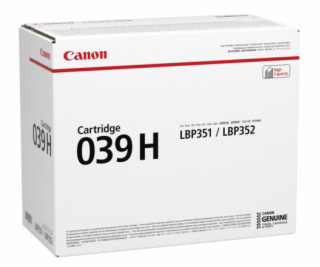 Canon Toner Cartridge 039 H black