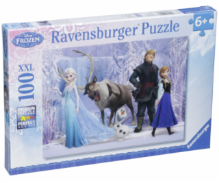 Ravensburger In The Realm Of Snow  100 pcs XXL  Disney Fr...