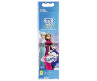 Braun Oral-B Toothbrush heads Stages Power  FROZEN     2 ...