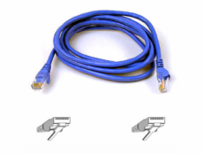 Belkin kábel PATCH UTP CAT6 3m modrý, bulk Snagless
