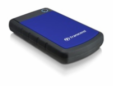 "Transcend StoreJet 25H3B 2.5"" 1TB (USB 3.0, Rubber Case, Anti-Shock) modrý"