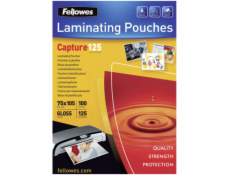 Fellowes lamino. folie 75x105 mm 125 mic leskly