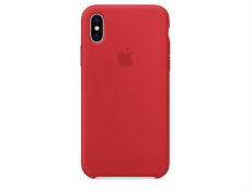 Apple iPhone X Silikon. obal (PRODUCT) cerveny