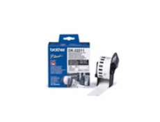 Brother Continuous White Film Tape (29mm)             DK-22211