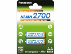 1x2 Panasonic High Capacity AA 2500 mAh Mignon