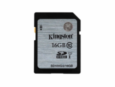 Kingston 16GB SDHC Class10 UHS-I (Read 45MB/s, Write 10MB/s)