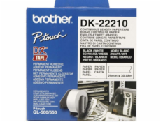 BROTHER DK22210 Continuous Paper Tape (Biela 29mm)
