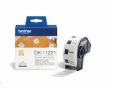 BROTHER DK11221, 23MM square paper label