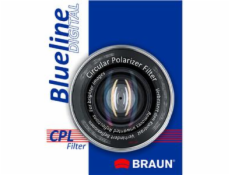 BRAUN C-PL polarizačný filter BlueLine - 55 mm