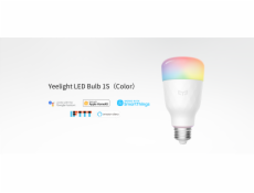 Xiaomi Yeelight Smart LED 1S Color, LED žiarovka
