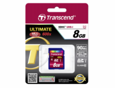 Transcend SDHC               8GB Class10 UHS-I 600x Ultimate