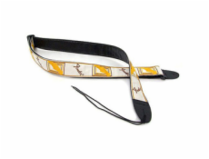 099-0683-000 Strap, White / Brown / Yellow