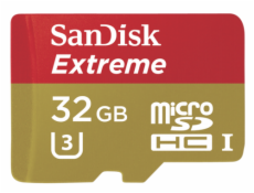 SanDisk MicroSDHC ActionSC  32GB Extreme 90MBs SDSQXNE-032G-GN6AA
