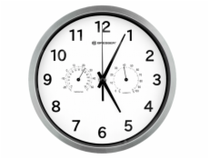 Bresser MyTime Thermo-/ Hygro- Wall Clock 25cm - white