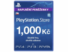 SONY PlayStation Live Cards Hang CZK1000/CZE